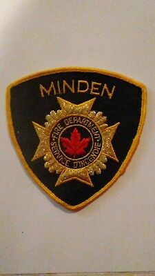 Minden Canada Fire Department Patch