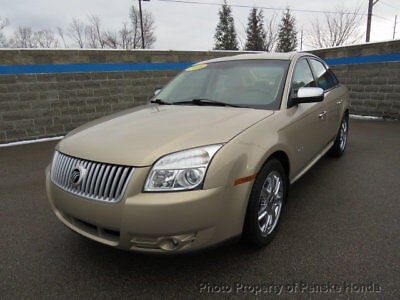 2008 Mercury Sable 4dr Sedan Premier FWD 4dr Sedan Premier FWD Automatic Gasoline 3.5L V6 Cyl GOLD