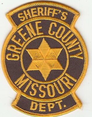 Greene County Missouri Sheriff's Department Police Patch Mo