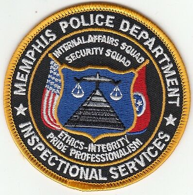 Memphis Police Inspectional Services Internal Affairs Patch Tennessee Tn