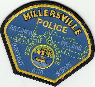 Millersville Police Patch Tennessee Tn