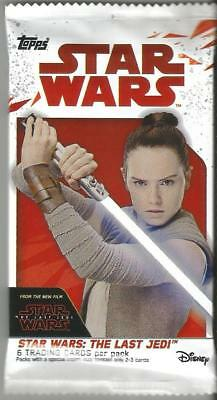2017 Topps Star Wars The Last Jedi Guaranteed Patch/Auto/Medal/Relic Hot Pack