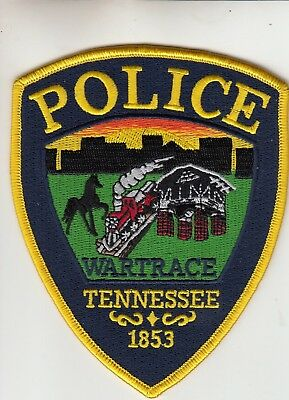Wartrace Police (Train) Patch Tennessee Tn