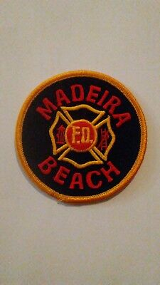 Madeira Beach Fire Department Patch