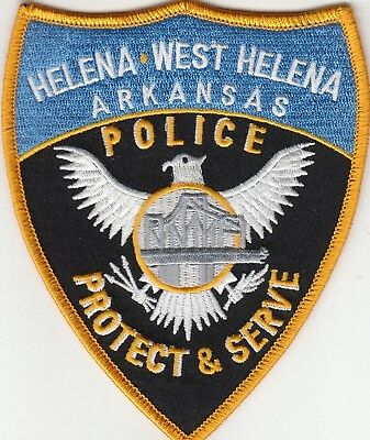 Helena West Helena Arkansas Police Patch Ar