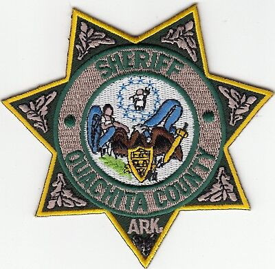 Ouachita County Sheriff Arkansas Ar Police Patch