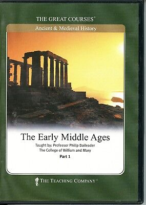 The Great Courses: The early Middle Ages (CDs)
