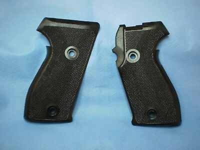 oem sig sauer sigarms factory p225 p6 black checkered polymer