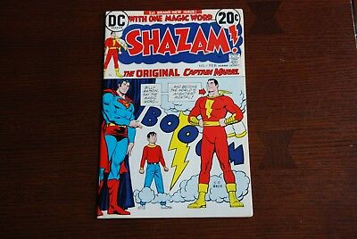 Shazam (1973) #1 VF/NM Bronze Age comic featuring DC's Captain Marvel!