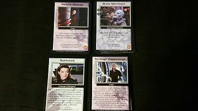 Babylon 5 B5 CCG Wheel of Fire Common NM/Mint Full Complete Set