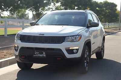 2018 Jeep Compass COMPASS TRAILHAWK 4X4-LOW MILES-LOADED-NO RESERVE JEEP COMPASS TRAILHAWK 4X4-LOW MILES-LOADED-INSPECTED-EXTRA CLEAN-NO RESERVE