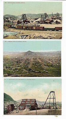 Goldfield and Tonopah Nevada...Early Mining Postcards