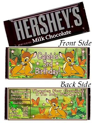 12 Shimmer And Shine Birthday Party Or Baby Shower Candy Hershey Bar