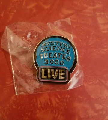 MST3K LIVE Watch Out For Snakes Tour Exclusive Pin Mystery Science Theater 3000!