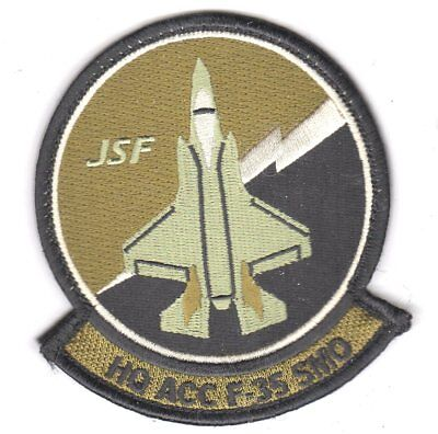 Usaf Patch Air Force Headquarters F-35 Systems Management Office Ocp W/velcrow