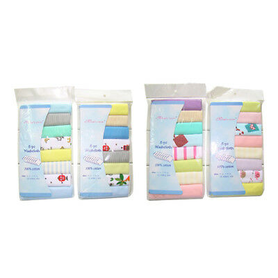 8pcs/pack 100% Cotton Newborn Baby Towels Saliva Towel Nursing Towel Baby Boy F6