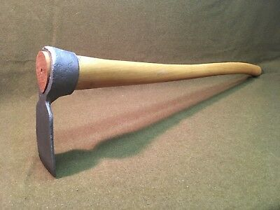 Antique Grub Hoe - Civilian Conservation Corp Tool 1930s-1940s - Fully Restored