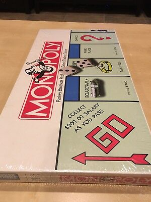 Vintage Monopoly Classic Edition Board Game NEW IN BOX  (sealed/unopened)