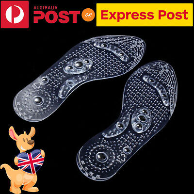 Magnetic Therapy Feet Massage Shoe Pad,Silicon Gel Foot Pads for Men Women