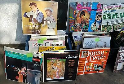 Records Bundles– 1940's,50's,60s,70's,80's, And 90'from list below Vintage,rare