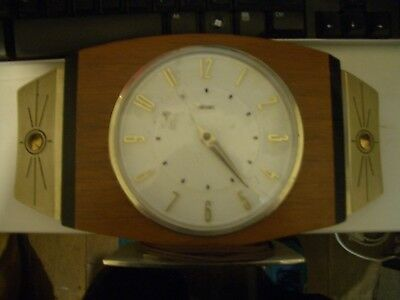 Vintage Metamec clock.  Does not work; parts only; Sell for Charity