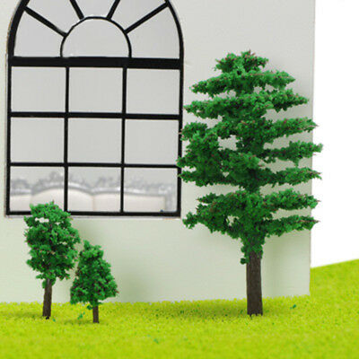 Trees Model Garden Wargame Train Railway Architectural Scenery Layout 4/6/8/9 Cm