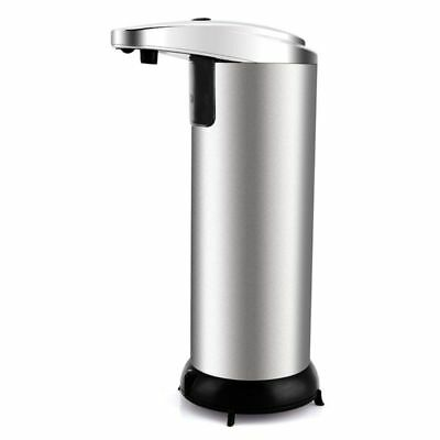 Stainless Steel Automatic Soap Liquid Dispenser Contactless Infrared Smart Se9F9