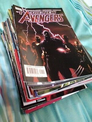 NEW AVENGERS (2004) #1-64, Annual 1-3, Finale COMPLETE SET Bendis