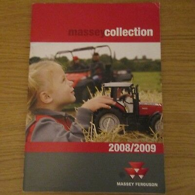 MASSEY FERGUSON Clothing Workwear Toys Collectables Accessories Brochure 2008-09