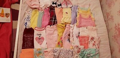 Bundle Of Girls Clothes 34 Items 3-6 months