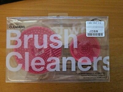 Make Up Brush Cleaners Set by Polish'd  :  2 x Pink Brush Cleaners - Brand New