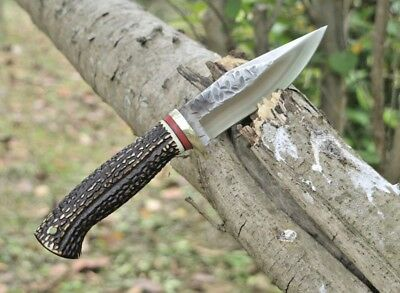Wild Outdoor Tactical Survival Hunting Fixed Blade Knife, 59HRC High Hardness