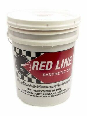 Redline Oil Heavy Shock Proof Gear Lube 75W250 5 gal P/N 58206