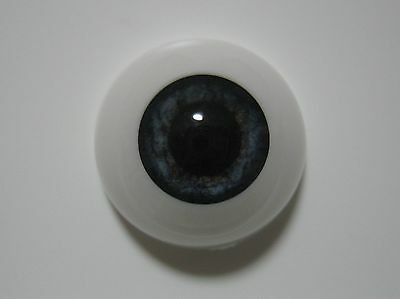 Reborn doll eyes 18mm Half Round  NEWBORN BLUE