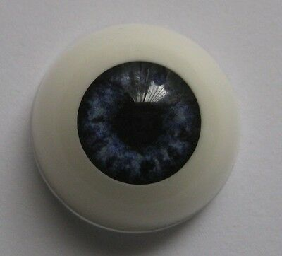 Reborn doll eyes 18mm Half Round  OCEAN BLUE