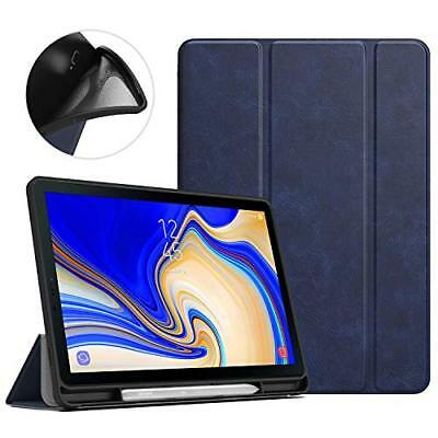 MoKo Case for Samsung Galaxy Tab S4 10.5 with S Pen Holder, Soft TPU Ultra Thin