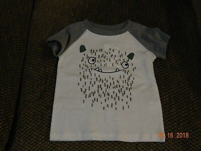 Nwt First Impressions Boys Monster T-Shirt In Size 3-6 Months Or 12-17 Lbs