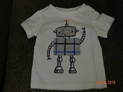 Nwt First Impressions Boys Robot T-Shirt In Size 3-6 Months