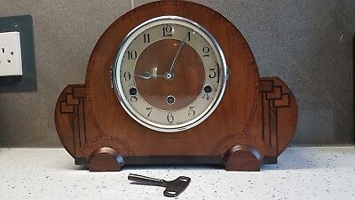 Haller Westminster Chiming Mantle Clock With Key [J.purser And Sons Limited ]?