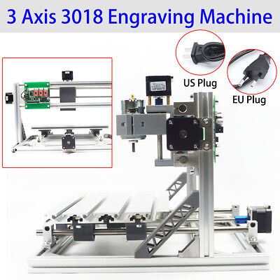 3 Axis 3018 GRBL Control CNC Milling Router Laser Engraving Carving Machine USA