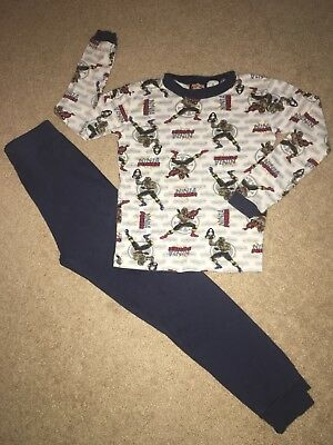 Boy's Power Rangers sleepwear pajamas size 10 pants & shirt
