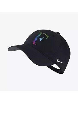 c87fbdfade Men s Nike Dri-Fit RF Roger Federer Iridescent Tennis Hat One Size 835536  010
