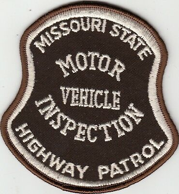 Missouri State Police Highway Patrol (Older) Motor Vehicle Inspection Patch Mo