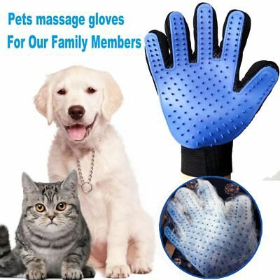 Hot Cleaning Brush Magic Glove Pet Dog Cat Massage Hair Removal Grooming Groomer