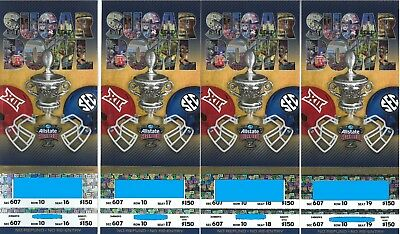 4 Tickets for 2019 Allstate Sugar Bowl  Section 607, Row 10, seats 16-19