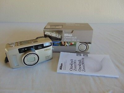 Electronics Film Cameras Nikon One Touch Zoom QD Date 35mm Camera ...