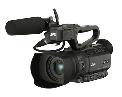 JVC GY-HM180E GY-HM180E hand-held camcorder 12.4 MP CMOS Black 4K Ultra HD