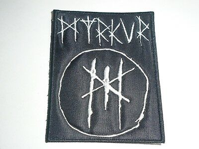 Myrkur Embroidered Patch