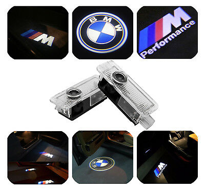 Fits BMW CREE LED Car Door Light Projector Puddle Courtesy Laser LOGO Light X5