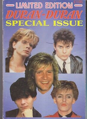 Duran Duran Limited Edition Magazine No 13 SPECIAL ISSUE Scarce Magazine